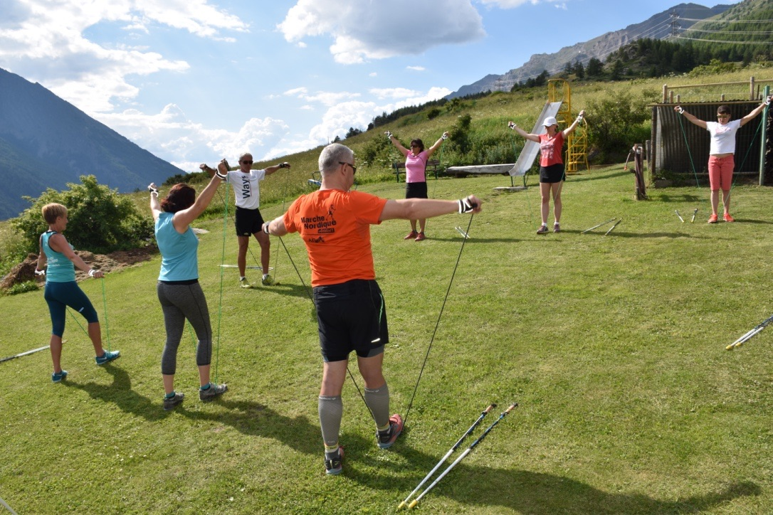 FORMATION EN NORDIC POWER DE PERSONAL TRAINER les 29 et 30 SEPTEMBRE 2018 A SALLANCHES