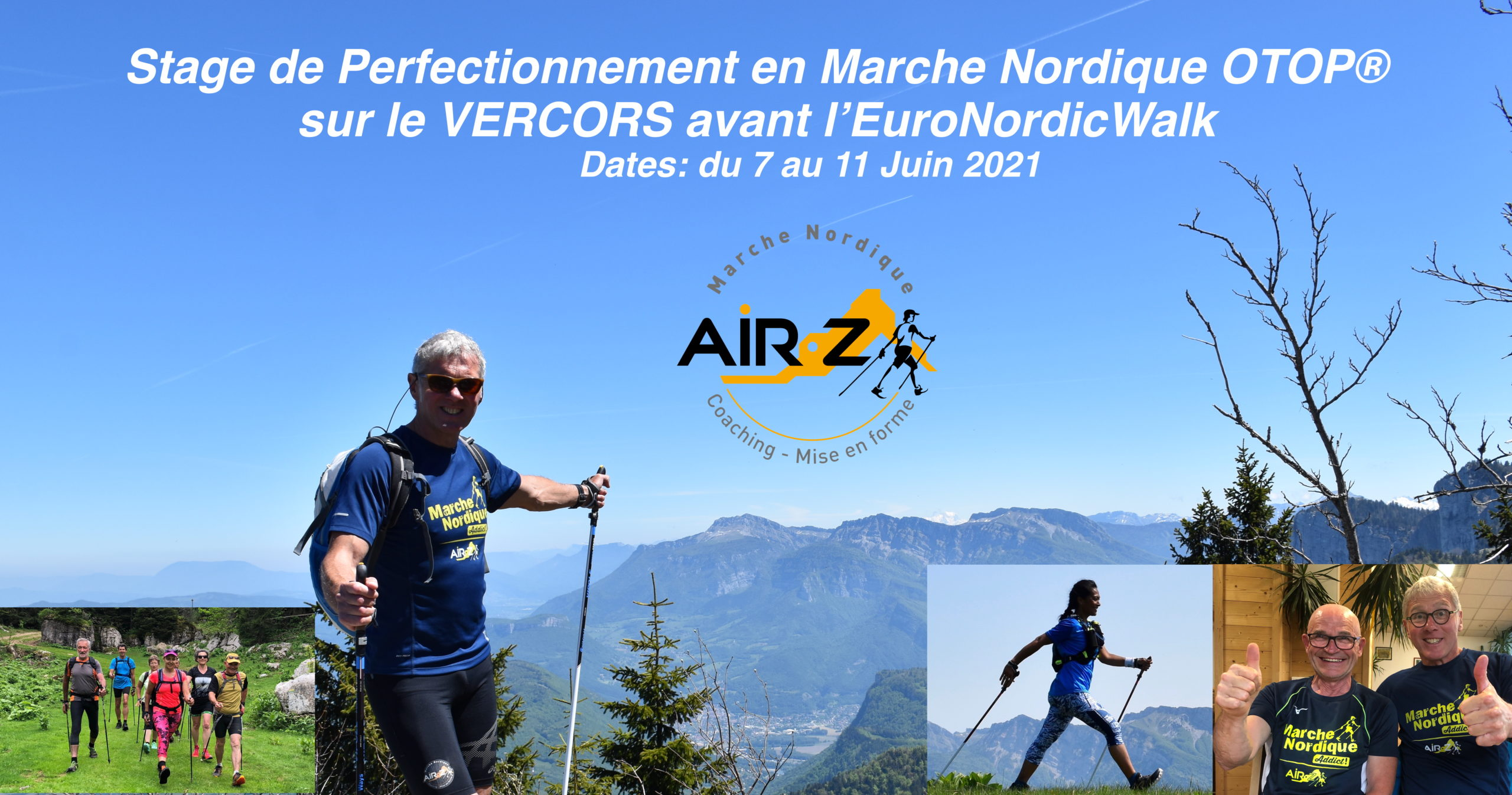 «VERCORS 2021…Le stage» Rendez-vous à Corrençon en Vercors cette année.