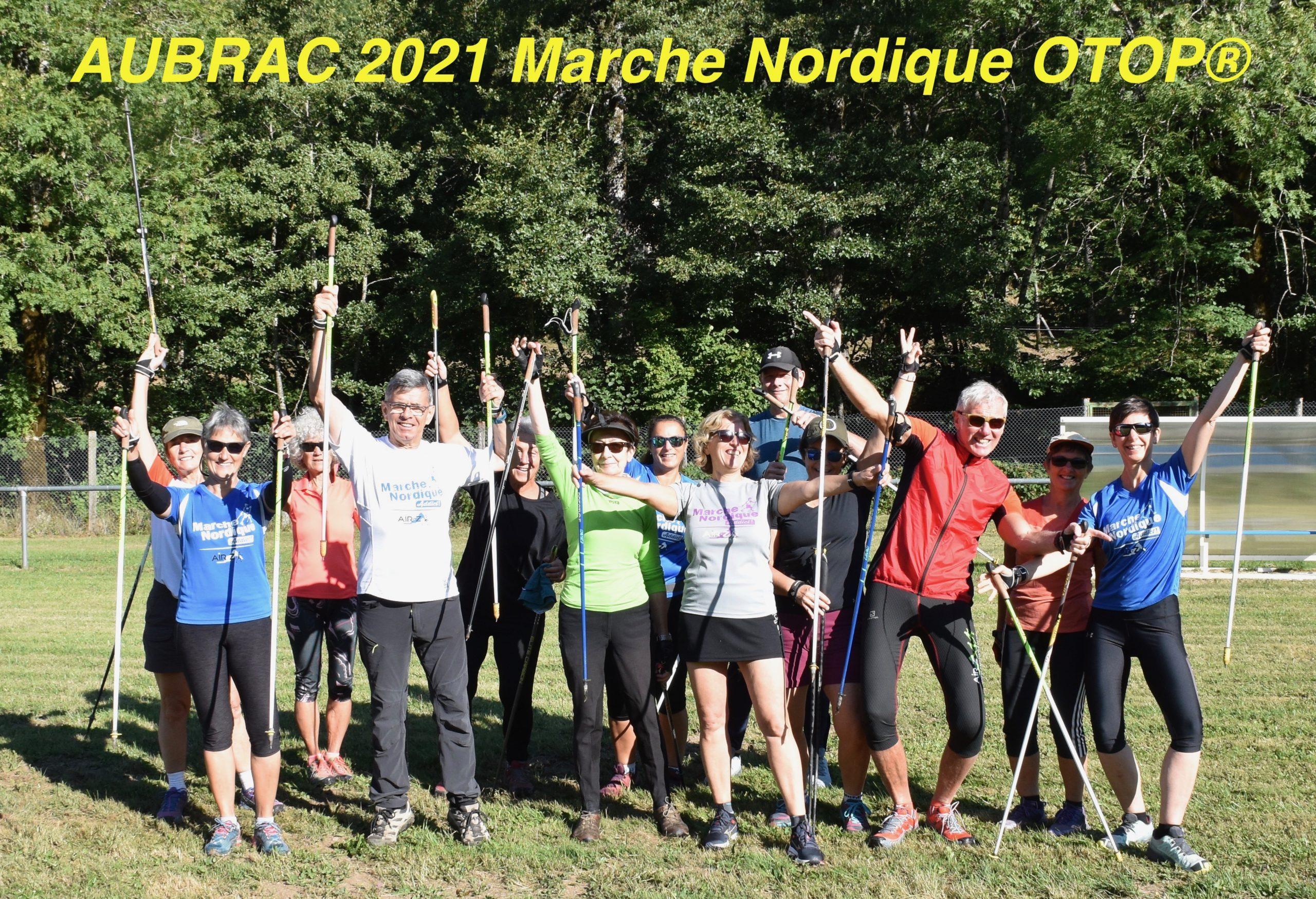 Une semaine épatante sur le beau plateau de l'Aubrac 2021 en Marche Nordique OTOP®