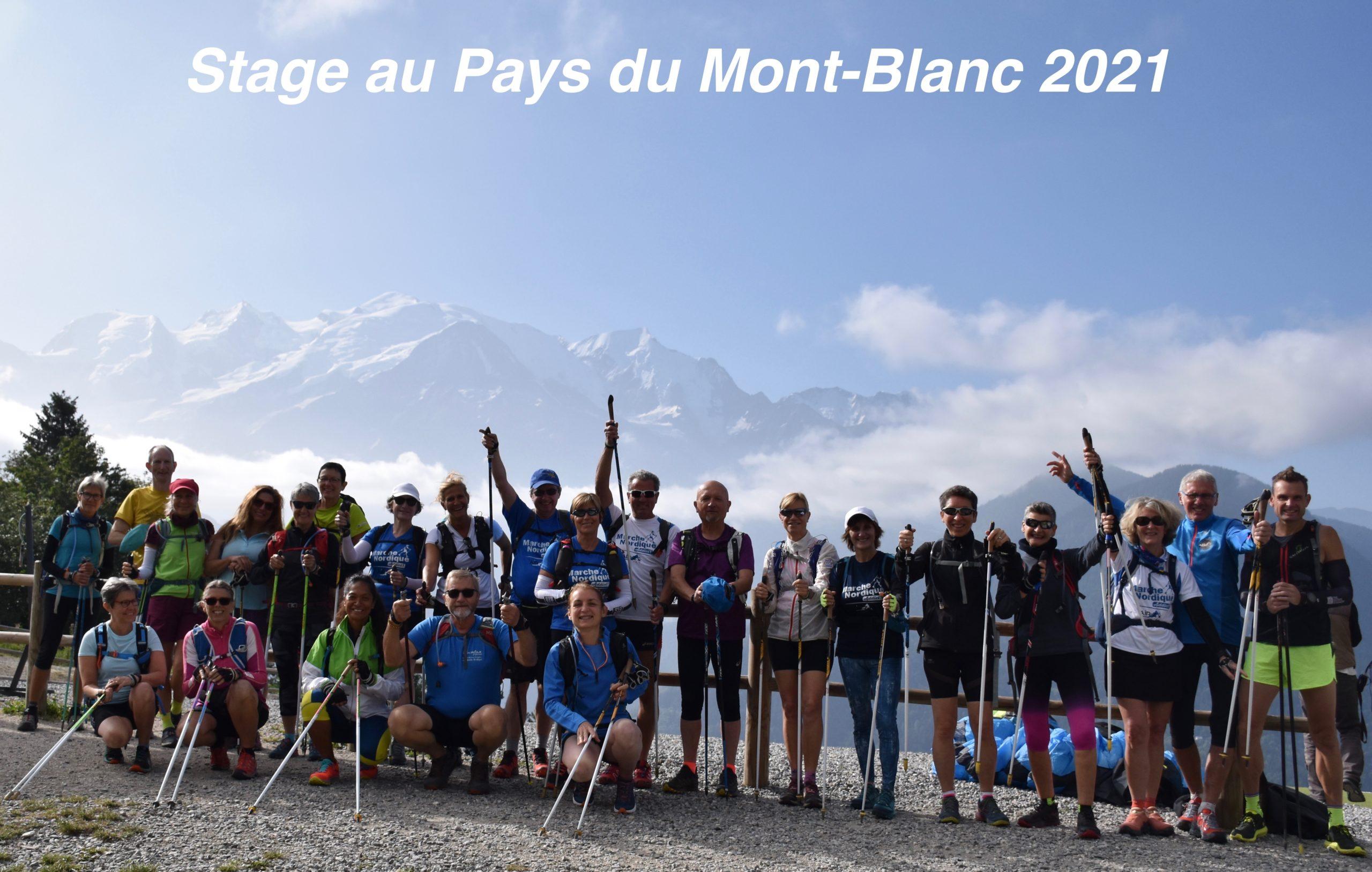 Marche Nordique OTOP® au Pays du Mont-Blanc 2021